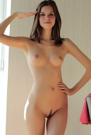 Hot Brunette Ksenee Shows Her Stunning Body